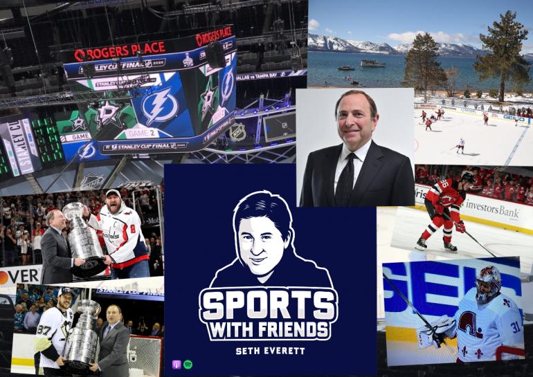 Gary Bettman Sports With Friends